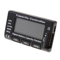 Wholesale Nimh Battery Life - LCD Battery Capacity Checker Tester for 2-7S LiPo LiFe Li-ion NiMH Nicd Battery