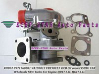 isuzu 4jb1t turbocompressor venda por atacado-NOVA RHB52 VA190013 VB190013 8971760801 VICB Turbocompressor de Turbocompressor de Óleo Para ISUZU Motor Do Carro 4JB1T 2.8L 4JG2T 3.1L