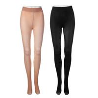 Wholesale High Top Cotton Socks Wholesale - Women Sexy Black Skin color Mesh Long Socks Steel Wire Thigh High Silk Stocs Top Quality Anti-Slip
