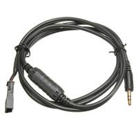 rádio e38 venda por atacado-Cabo de rádio MP3 do adaptador do AUX do carro de 3.5mm para estéreo de BMW BM54 E39 E46 E38 E53 X5