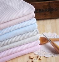 organic bamboo shirts - 70 Bamboo Cotton fiber bamboo fabric organic Antibacterial Stripe knitting jersey fabric for t shirt jersey Bedclothes baby