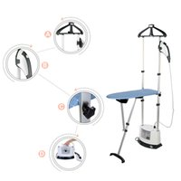 Wholesale Hanging Steam Iron - Garment Steamer with Plastic Steam Head Steamer Multi-function Ironing Machine Double Pole Hang Steam and Dry Iron