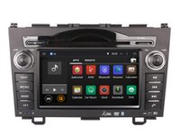 Wholesale Dvd Gps Navigation Crv - Android 5.1 Car DVD Player GPS Navigation for Honda CRV CR-V 2006-2011 with Radio Bluetooth AUX Stereo Audio Video WIFI 1024*600