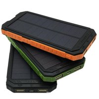 Wholesale Solar Power Charger Case - 3in1 Outdoor Assembling Dual USB Solar Power Bank Case DIY Charger Kit Set with Compass LED Light No Battery