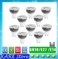 Wholesale REAL POWER CREE led bulb W w W Dimmable GU10 MR16 E27 E14 GU5 B22 Led spot Light Spotlight led lamp downlight