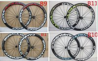 Wholesale Color 24 Bicycle Wheel - Hot sale powerway R36 hubs Carbon Wheelset 50mm clincher white decal Clincher 20 24 spoke carbon bicycle wheels many color can chiose