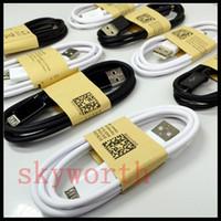 samsung galaxy s6 край зарядное устройство кабель оптовых-Micro USB зарядное устройство кабель 3.0 синхронизации данных провод 1 м/3 фута для Samsung Galaxy S6 S7 край HTC M8 Huawei Lenovo Blackberry