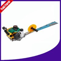Wholesale tree trimmers online – design Gasoline Hedge Trimmer Tea Tree Trimmer Portable Green Hedge Fence Trimming Machine Trimmer Machine Single Dual Edge Blade