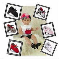 Wholesale Trend Shoes Wholesale - Wholesale- Soft Sole Girl Spring and autumn new 0-1 year old baby girl shoes baby high heels trend toddler shoes Non-slip First Walker