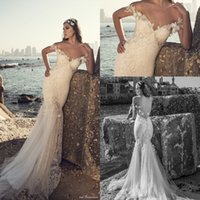 online Shopping Lace Short Beach Wedding Dress - 2017 Julievino New Off Shoulders 3D-floral Backless Mermaid Wedding Dresses Lace Bodice Vintage Bridal Gowns with Sweep Train