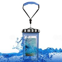 Wholesale lenovo note phones for sale – best 2016 Underwater Waterproof Phones Bag Case Cover Pouch with Floating Wrist Strap for Samsung Galaxy s6 edge plus s7 for lenovo k4 note