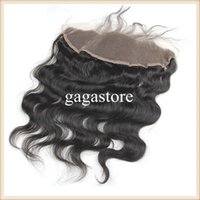 Wholesale Synthetic Brazilian Weaving Hair - 100 Unprocessed Brazilian Hair Body Wave 4 Bundles With 13x4 Lace Frontal Closure 8A Grade Human Hair Weave With Full Lace Frontal E