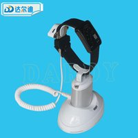 Wholesale Retail Displays For Watches - Smart Watch Security Display Universal iWatch Digital Wrist Retail Shop Anti-lost Alarm Stand for Apple Samsung HTC Smart Watches Free DHL