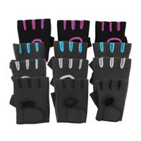 Wholesale Gym Fitness Gloves Wholesale - Men & Women Sports Gym Glove Fitness Training Exercise Body Building Workout Weight Lifting Gloves Half Finger