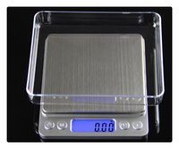 Wholesale Medicine Jewelry - DHL High precision jewelry scale miniature gold jewelry electronic medicine grams weigh 0.01 g scale kitchen scale