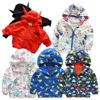 Wholesale Sun Jacket Baby - Korean Spring 2016 Children Coats Baby Girl New Hooded Windbreaker Jackets Windproof Sun Protection Clothing trench coats