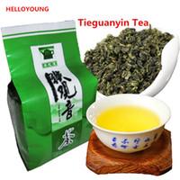 ingrosso cravatte cinesi-Tè 50g cinese organico di Oolong Tieguanyin Anxi Tie Guan Yin Tè verde tè TiKuanYin alto costo-in vigore desiderata