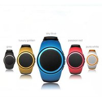 Wholesale Hands Free Watch Phone - B20 smart watch with self-timer anti-lost alarm music sport mini Bluetooth speaker support TF card FM radio hands-free 24-YX