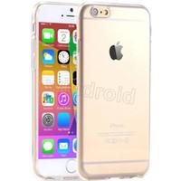 i6 artı kutular elma toptan satış-Ultra-Ince Crystal Clear Şeffaf TPU jel yumuşak Kauçuk Kılıf Kılıfları Kapak Samsung S7 Kenar iPhone 6 i6 s artı se Ucuz Ücretsiz DHL 50 adet