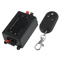 led inalámbrico de control remoto controlado al por mayor-Control remoto inalámbrico Regulador de luz LED Control DC 12V MR16 Foco LED