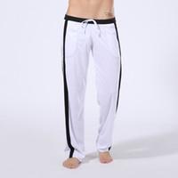 Wholesale Hot Johns - Men Long Pants 2016 WJ Brand Causal Lose Comfy Sport Basketball Running High Quality Hot Sale Drawstring Mens Long Johns