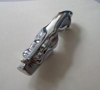 grelha volkswagen venda por atacado-1 peça CE qualidade Car Metal Cheetah (Runing Cheetal) capô tamanho do emblema 12.5x2.6 (+/- 1mm) prata para carros DOS EUA Ja ** série todos os modelos