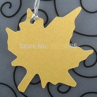 Wholesale Birthday Wedding Wishes - Maple Leaf Wish Tree Tag Blank Thank You Tags for Confirmation, wedding birthday party Favor Tags