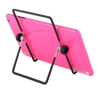 "Wholesale Tablet Pc Stand Portable Foldable - Adjustable Stand Holder Multi-angle 180 Degrees Folding Foldable Portable Stand Holders for 7"" 9.7"" 10"" Tablet PC Free Shipping"