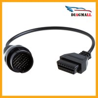 Wholesale Mb 38 Pin - Mercedes Benz Adapter Cable BENZ OBD2 38 Pin to 16 Pin Diagnostic Connector For MB Series