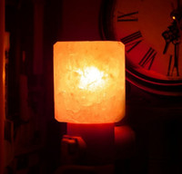 Wholesale Weight Lamp - Mini Hand Carved Natural Crystal Himalayan Salt Lamp night light (cylinder-shaped) Item Weight:7.7 Product Dimensions