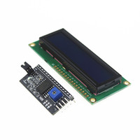 Wholesale I2c Interface Module - Wholesale-Smart Electronics 1602 16x2 HD44780 Character LCD  w IIC I2C Serial Interface Adapter Module