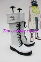 Wholesale Dramatical Murder Cosplay Costume - Wholesale-Freeshipping custom-made anime Dramatical Murder clear cosplay boots shoes for Halloween Christmas festival