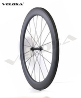 Wholesale U Wheels - 2017 NEW arriva! Velosa r13 60mm clincher tubular ,25mm width U shape rim Full carbon bike wheelset,,700C road bike wheel free shipping
