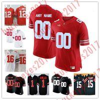fd1205fd1 Football Men Short Custom Ohio State Buckeyes College Football 16 Barrett  12 Jones 1 Miller 16