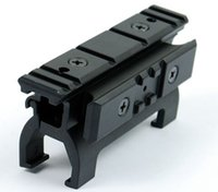 Wholesale Mp5 Tactical - Tactical 20mm High Weaver Rail Mount MP5 Rail For Install Scope Free Shipping