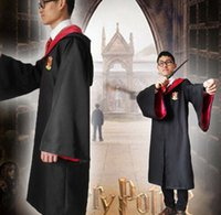 Wholesale halloween costumes styles Harry Potter Costume Adult and Kids Cloak Robe Cape DHL