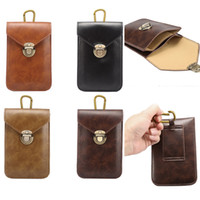 Wholesale note2 wallet cases - New 5.3-5.7 inch Crazy Horse Leather general lines 3 vertical lattice leisure Bags pockets For iphone5 6 plus Galaxy note2 3