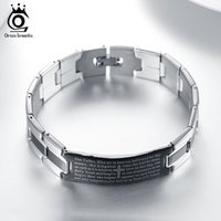 Wholesale Birthday Gifts Bracelet - 20 CM Length Fashion Trendy Birthday Gift Stainless Steel Men's Bracelet Wholesale Bracelet & Bangle Jewelry GTB14