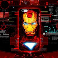 Marvel Avengers Superman Soft TPU Case Batman Dark Knight Spider Ironman Capitaine America Shield Couverture Peau Pour iphone 7 plus 6 6s SE 5s 5