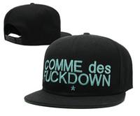 Wholesale Comme Des Fuckdown Red - Cheap 2016 COMME DES FUCKDOWN LOWKEY Snapback Hats Street Hiphop Hats Dancing Caps