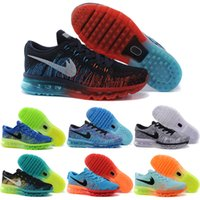 Wholesale Cheap Fly Fishing - Wholesale Cheap 2014 Running Shoes Men Fly Line 100% Original Mens Walking Shoes Air 2016 New Sports Shoes Free Shipping Size 40-45