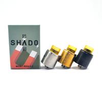 vs bir toptan satış-Shado MGNT 2 RDA Rebuildable Damlama Atomizer 24 MM çap PEI damla İpucu Benzersiz bir post tasarım VS 528 GOON RDA RDTA Yüksek Kaliteli DHL ücretsiz
