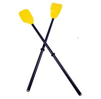 Wholesale plastic paddling oars one pair suit for Rowing Boats size cm for inflatable boat paddle fishing boat kayak pvc boat