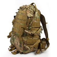 Wholesale Camouflage For Hunting - Hot Sale Outdoor Molle Tactical Assault Bags Camping Hiking Camouflage Backpack With Additional Pack for Athletic Hunting CL5-0010