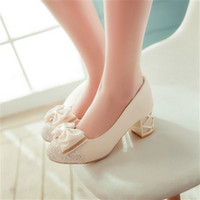 Wholesale Dress For Fats - The spring and Autumn period, in the documentary mm female fat code shoes shoes suitable for foot feet wide foot foot thick fat fat foot ins