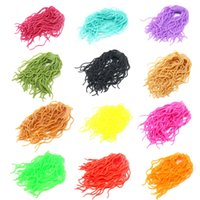Wholesale Make Bait - SAMSFX Fly Tying Material Worms Body Fly Flies Lures Baits Squirmy Wormy Making Fly Tying Material Ultra Stretchy