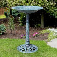 Wholesale choice decor - Best Choice Products Pedestal Bird Bath Garden Decor