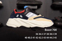 Wholesale Latest Models Shoes - 2017 Boost 700 latest model calabasas boost 700 Runner kanye coconut shoes men and women retro running shoes SIZE 36-45 free shipping DHL