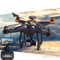 Meilleur assistant professionnel Cheerson CX22 Follower 5.8G Dual GPS FPV Witouth 1080P Caméra Quadcopter + Cercle Hovering + Design haut de gamme DJI Phanto