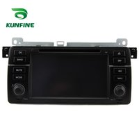 Wholesale E46 Gps 3g - Quad Core 1024*600 Android 5.1.1 Car DVD GPS Navigation Player Car Stereo for BMW E46 1998-2006 Radio 3G Wifi Bluetooth KF-V2197Q